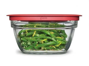 Green Storage Glass Bowls