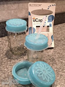 Product Review: Blossom uCap Silicone Mason Jar Straw Lids