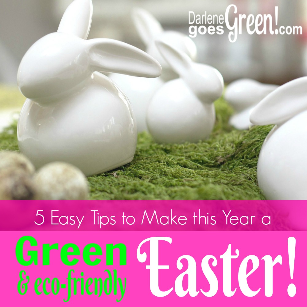 5 Easy Tips to a Green & Eco-friendly Easter