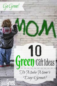Green Eco-Friendly Mother's Day Gifts