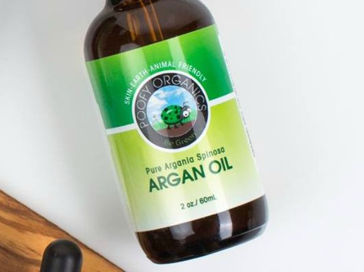 Poofy Organics Argan Oil Can Help when You Break Out from Natural Deodorant