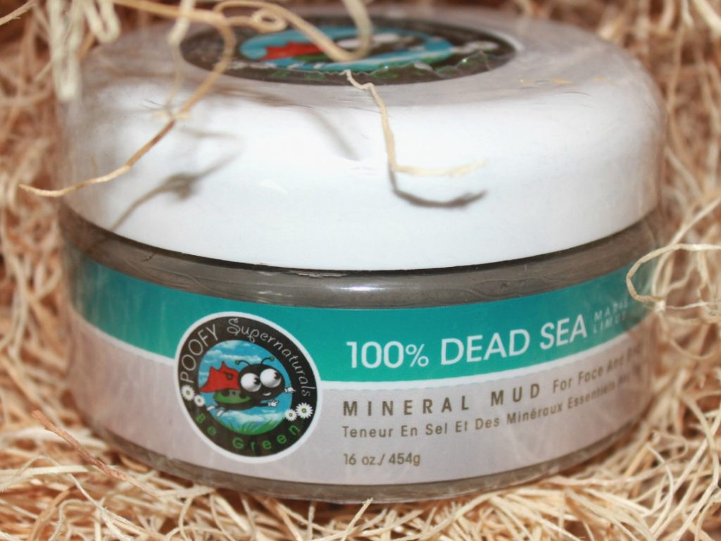 Poofy Organics Dead Sea Mud can Help You when You Break Out from Natural Deodorant