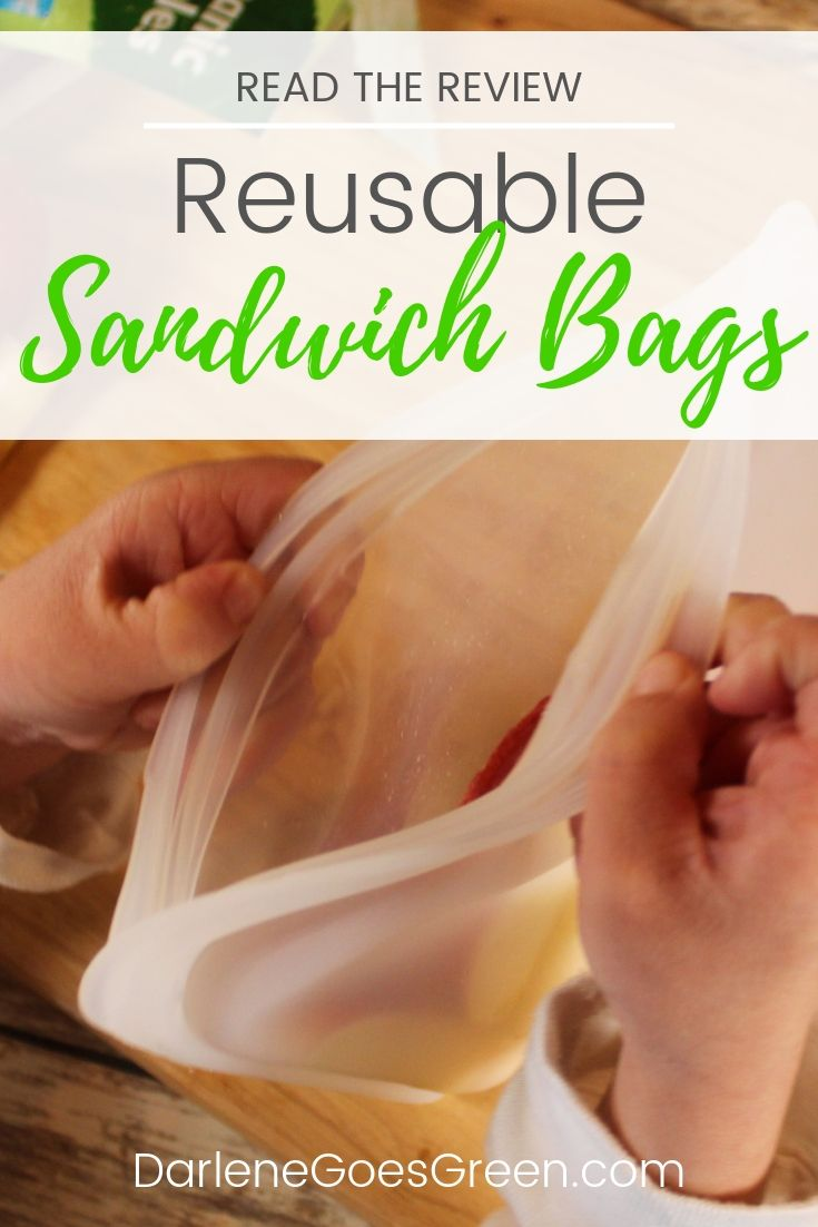 Looking for an alternative to single use plastic sandwich bags? Read the review of my favorite reusable sandwich bags here https://darlenegoesgreen.com/product-review-stasher-bag-eco-friendly-reusable-sandwich-bags/
