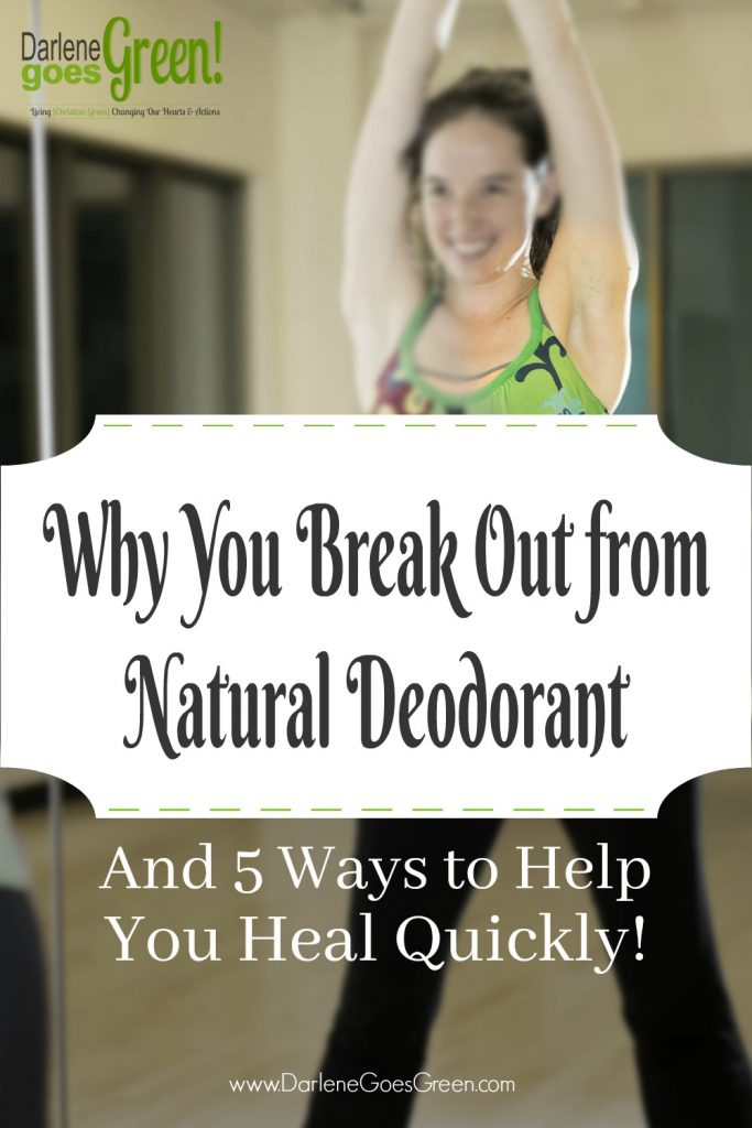What to Do When You Break Out from Natural Deodorant