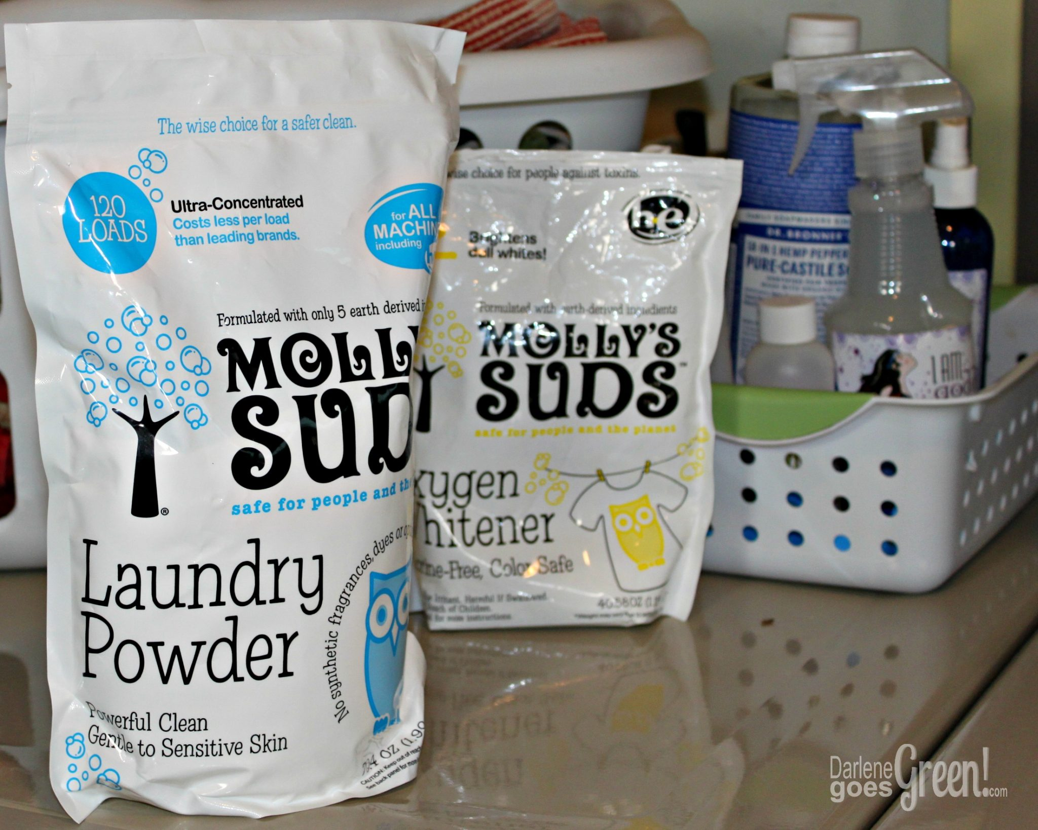 Product Review: Molly's Suds Laundry Powder  Eco-friendly