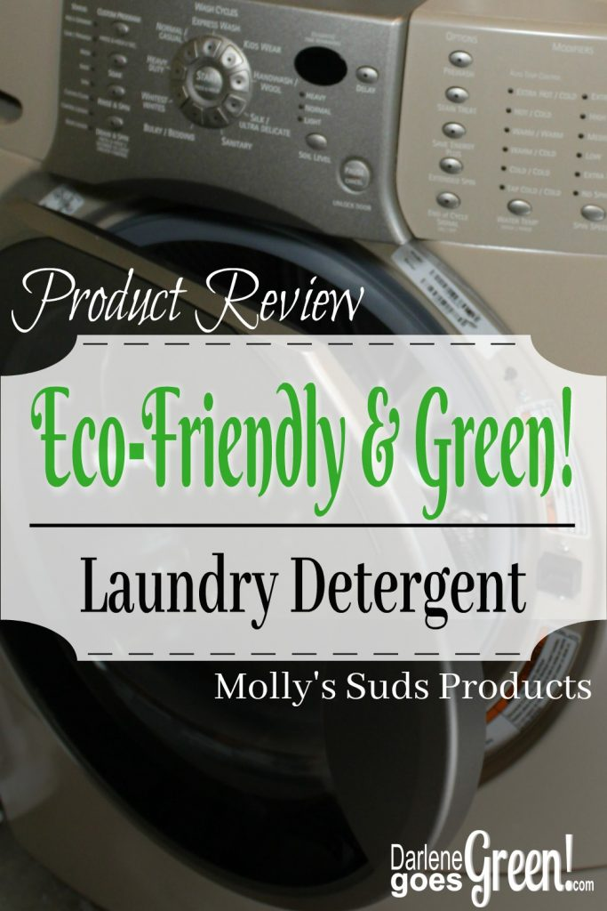 Molly's Suds Review Eco-friendly Green Laundry Detergent