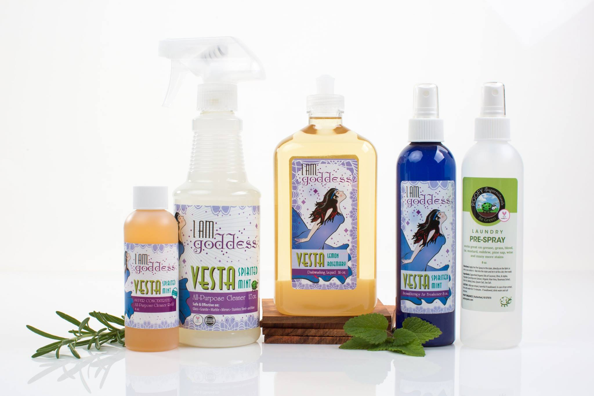 Poofy Organics Toxin-Free Home Bath and Body Cleaner