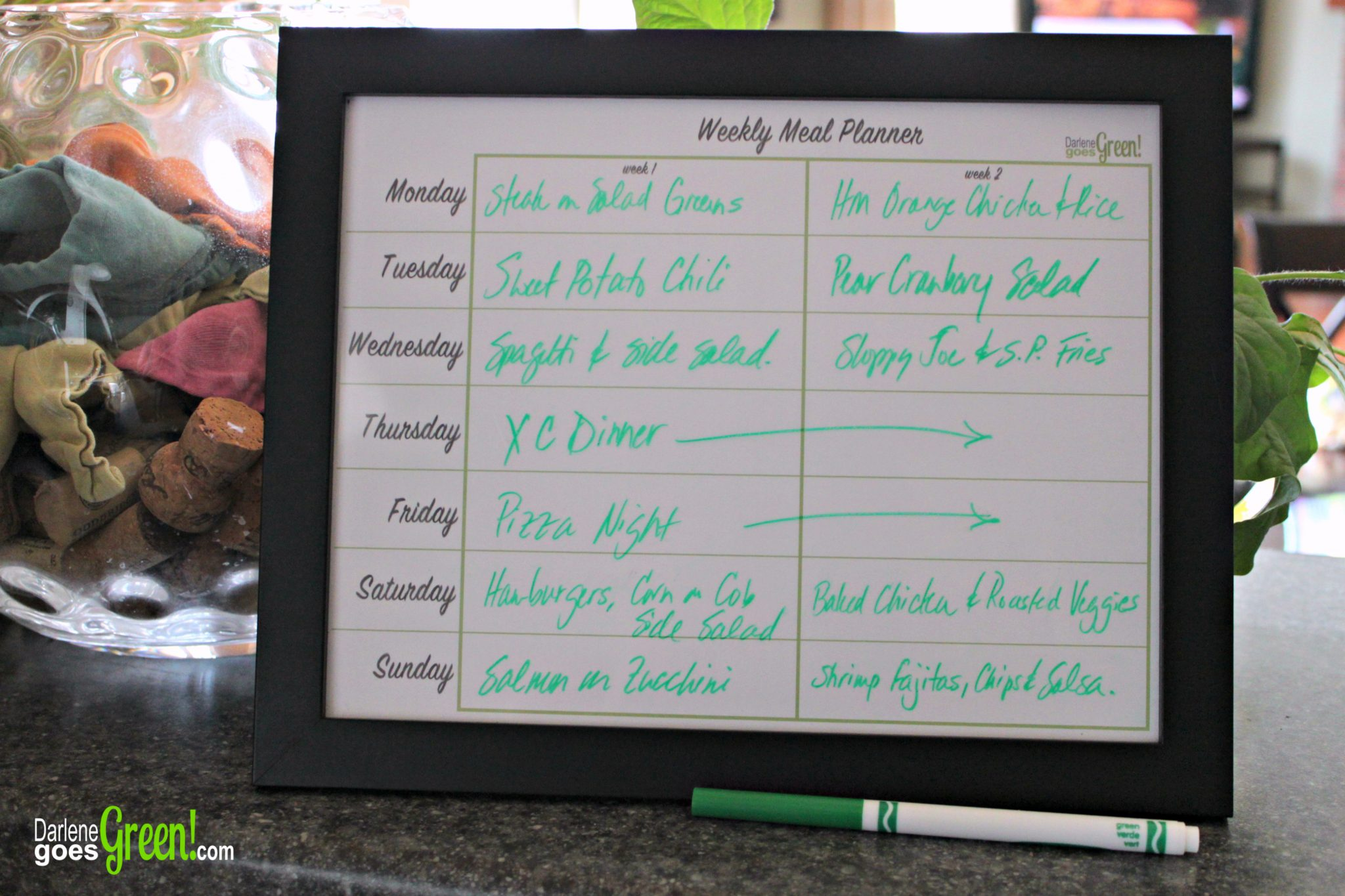 How to Make a Reusable Meal Planner