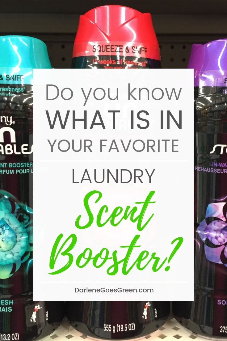 3 Big Problems with Laundry Scent Boosters & Why You Need to