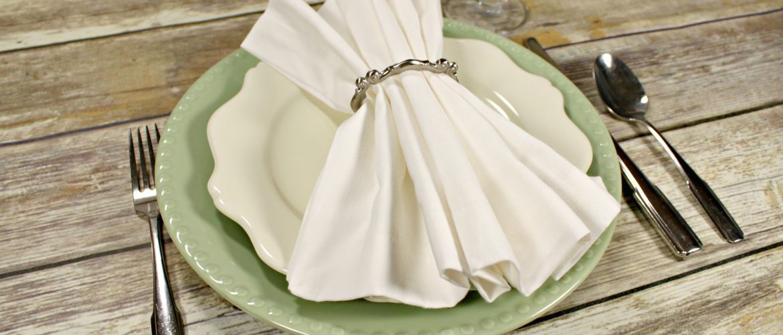 Cloth Napkins are Eco-Friendly