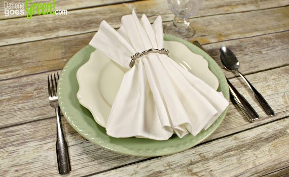Cloth Napkins are Eco-Friendly