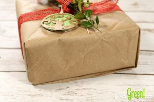 Wrapping Paper from recycled packaging paper