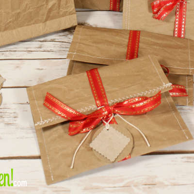 How to Make Easy Upcycled Gift Envelopes