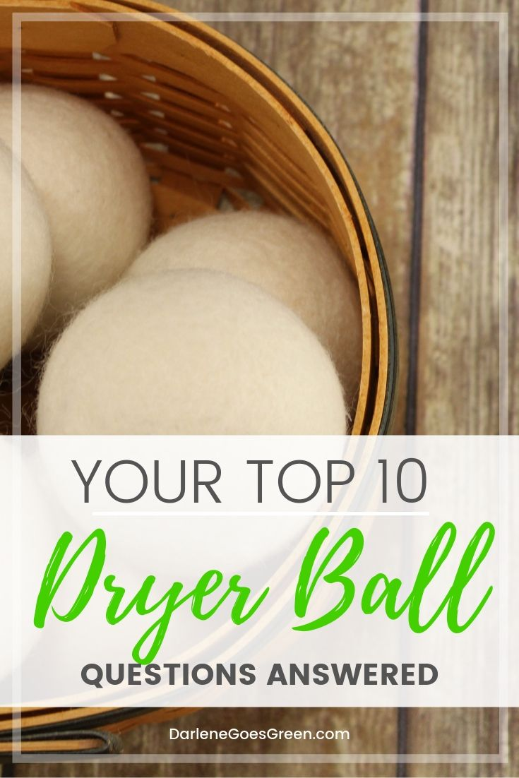 Have you tried dryer balls yet? I answer your top 10 dryer ball questions here https://darlenegoesgreen.com/what-are-dryer-balls-and-do-they-work/