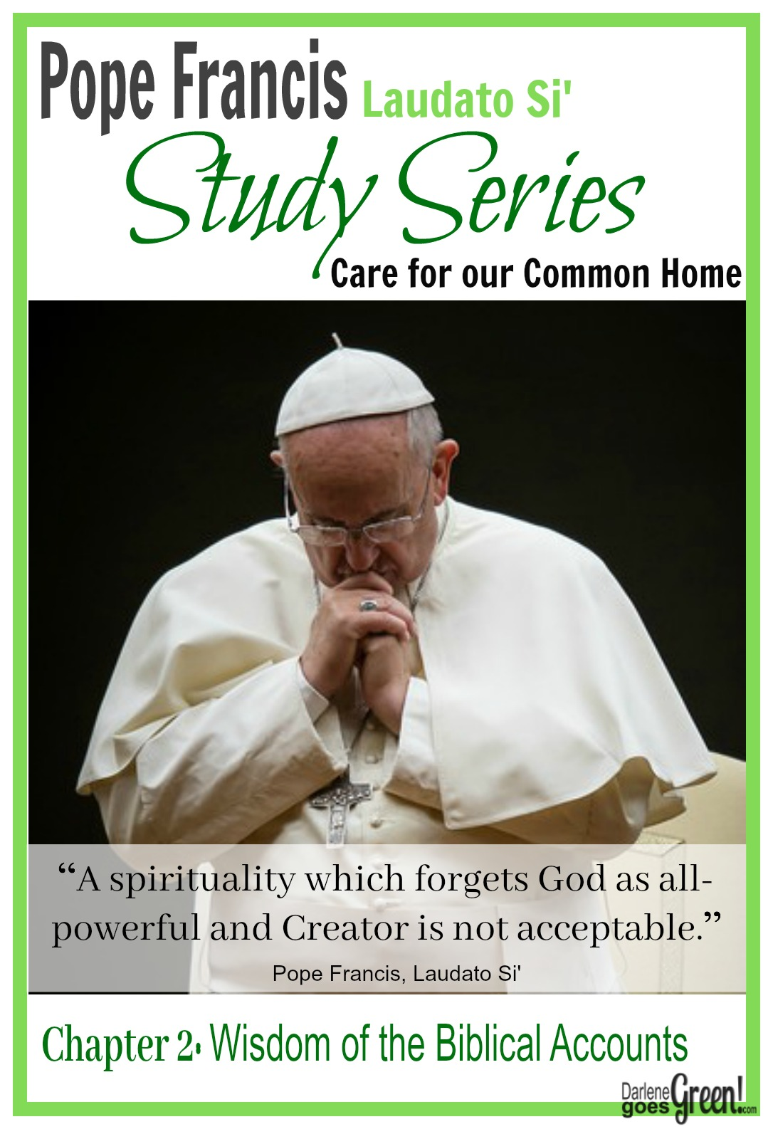 Psalms 148Study of Pope Francis Care for Our Common Home