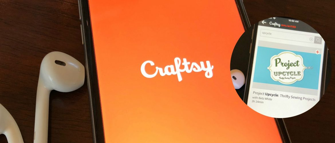 Craftsy Unlimited Review Project Upcycle