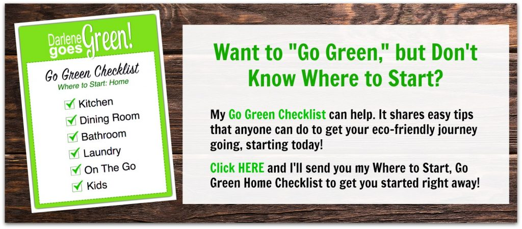 Eco-friendly Green Living Checklist