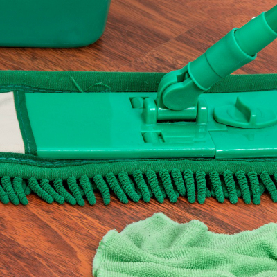 How to Green Clean Your Whole House  With only 5 Natural products!