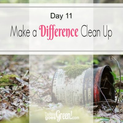 30 Day Challenge Day 11: Make a Difference and Clean Up