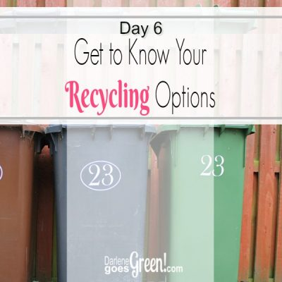 30 Day Challenge Day 6: Recycling For the Glory of God