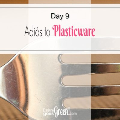 30 Day Challenge Day 9: Adios to Plasticware