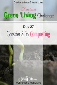 Go Green Try Composting