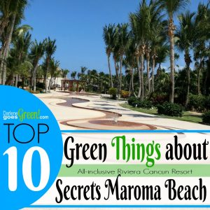 Eco-friendly Green Secrets Maroma Riviera Cancun Mexico