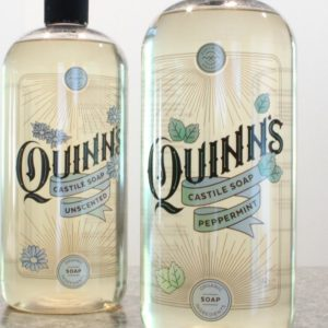 Product Review Quinn's Castile Soap Green Cleaner