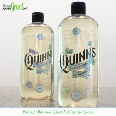 Quinn's Castile Soap – A Greener Cleaner!