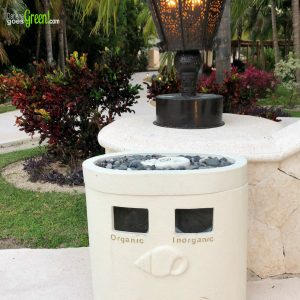 Green Travel Review Secrets Maroma Beach All-Inclusive Mexico Resort Organic Inorganic Bins