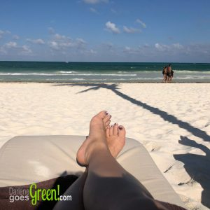Green Travel Review Secrets Maroma Beach All-Inclusive Mexico Resort Ocean Beach