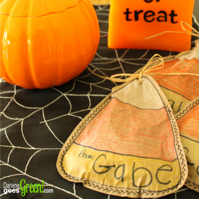 DIY Upcycled Party Treat Bags