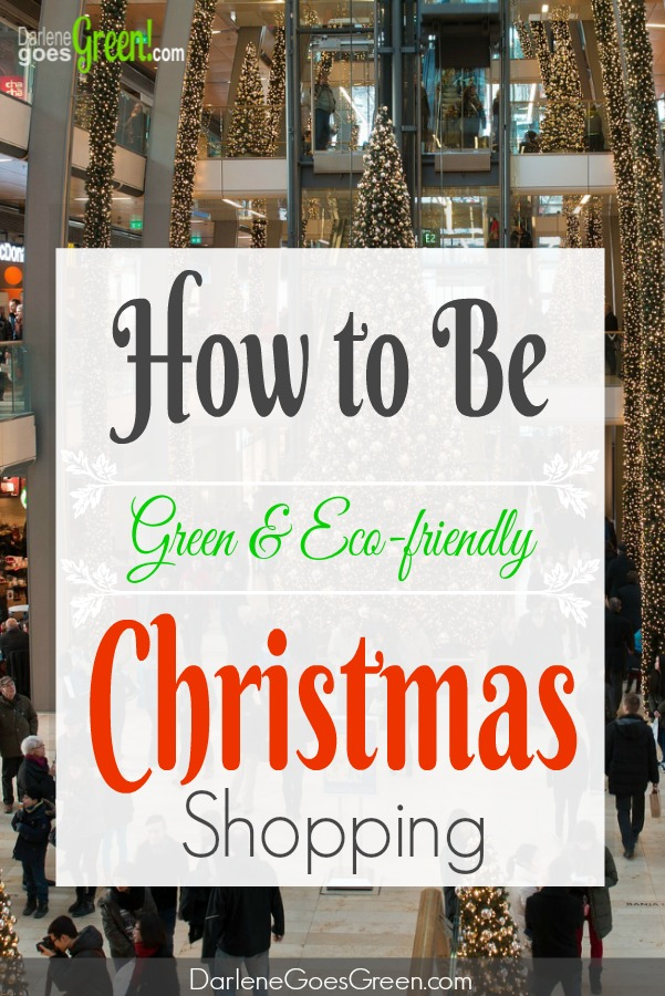 How to be Christian Green Eco-friendly During Christmas Shopping