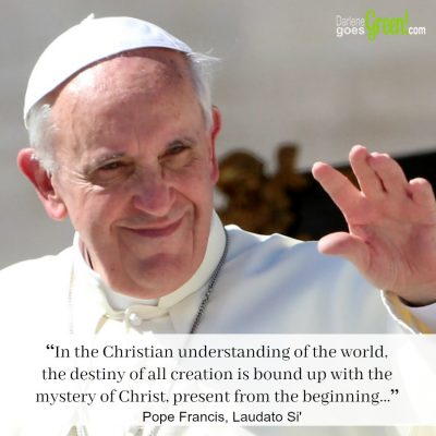 Pope Francis' Encyclical Laudato Si': (Part 2.7) The Gaze of Jesus