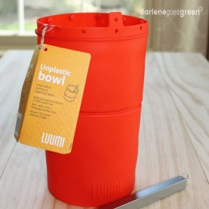 Luumi UnPlastic Bowl Review, A Plastic Free Reusable Bag
