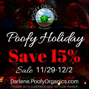 Poofy Organics Holiday 2019 Sale Save 15%